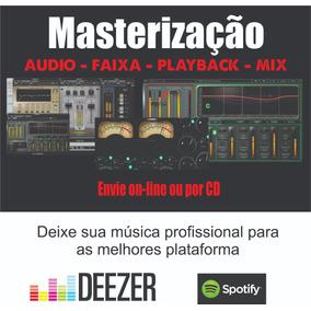 Masterização De Áudio (faixa Ou Álbum)