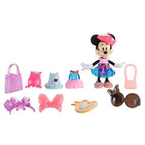 Boneca Com Acessórios - Disney - Minnie Mouse - Paris Chic