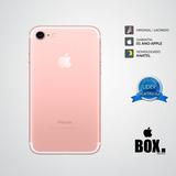 Iphone 7 32gb Rosa 12x S/ Juros Lacrado Anatel + 2 Brindes