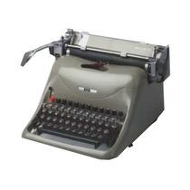 Máquina De Escrever Manual Profissional Olivetti Lexicon 80