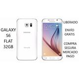 Galaxy S6 Flat 32gb Liberado De Regalo Cargador Inalambrico