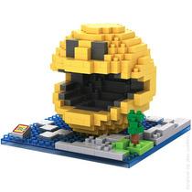 Miniatura Do Pac-man Em Blocos Loz Nanoblock Pixel