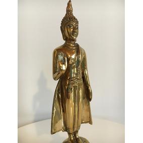 Buda De Bronce Antiguo - Origen Tailandia - Unico
