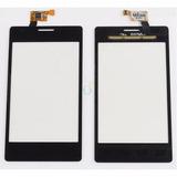 Tela Touch Vidro Lente Lg Optimus L5 E615 Preto