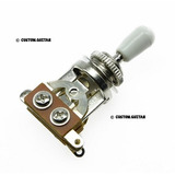 Selector Switch Toggle Cromado Guitarra - Les Paul Epiphone