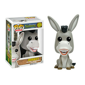 Funko Pop Movies 279 - Donkey ( Burro ) - Shrek - Novo