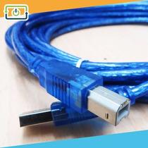 Cable Usb Alta Calidad Para Impresora 5mts - Somos Tienda
