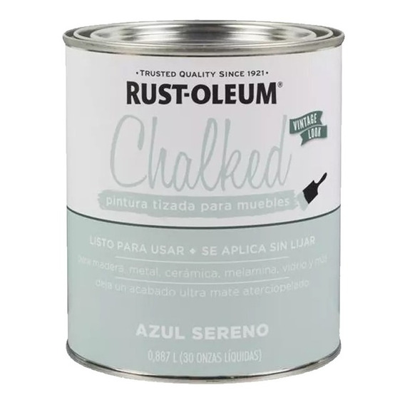 Chalked 887ml Colores Rust-oleum Pintura Tizada Mm