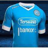 Camiseta Club Atlético Belgrano Kappa Oficial 2017 Entallada