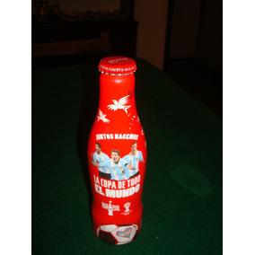 Coca Cola Messi Brasil 2014 Botella Aluminio Ed. Limitada