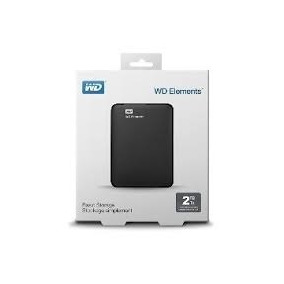 Hd Externo 2tb Wd Portatil Western Digital Elements 2 Tera