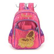 Mochila Infantil Princess Borboleta Pink