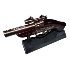 Revolver Antiguo Adorno De Coleccion