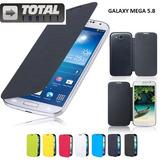 Capa Flip Case + Pelicula Vidro Galaxy Mega 5.8 I9150 I9150!