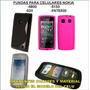 Funda Nokia 520 5800 5130 Fate 500 Protector Silicona Tpu