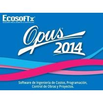 Neodata 9+ Opus 14 Soft Computo Presupuesto Obras