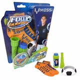 Messi Foot Bubbles Kit Medias Magicas Burbujas Leo Educando