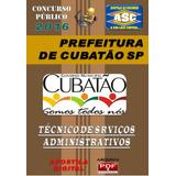 Apostila Prefeitura Cubatao Tecnico Servicos Administrativos