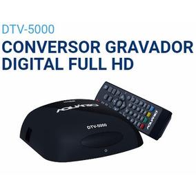 Conversor Gravador Digital Aquário Dtv-5000 S/ Cabo Hdmi