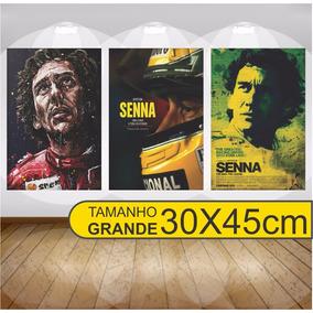 Placas Decorativas Mdf Famosos Bob Senna Brown Grande 30x45