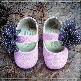 Zapatitos Bebé Flores Recién Nacido Baby Shower Envío Gratis