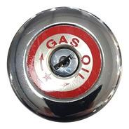 Tapa Tanque De Combustible F 100 C/llave Gasolera Cromada