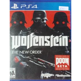 Juego Ps4   Wolfenstein The New Order Físico Nuevo Sellado