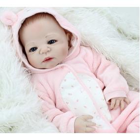 Boneca Real Bebe Reborn Recem Nascido 55cm Importado