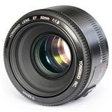 Lente Yongnuo 50mm 1.8 Para Camaras Canon Nueva Sellado