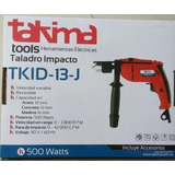 Taladro Takima Tkid-13-j, De Impacto Y Reversible