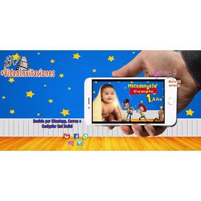 Invitacion Digital En Video De Toy Story