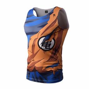 Camisa Compressão 3d Dragon Ball Z / Super - Goku Ou Vegeta