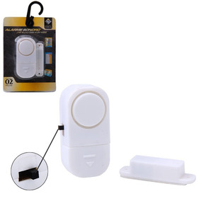 Sensor Alarme Magnético Residencial Porta Janela F Gratis