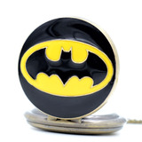Genial Reloj De Bolsillo De Batman Pocket Watch