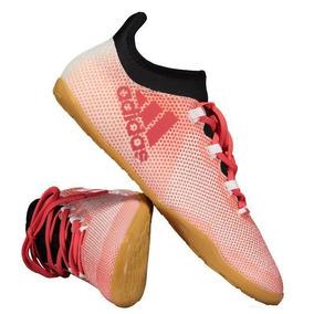 Chuteira Futsal Adidas Vermelha - Chuteiras para Adultos no Mercado ... dded0028b0bb6