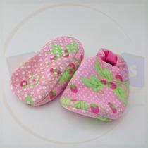 Zapato Tenis Pantunfla Para Bebé 3 A 6 Meses Suela Blanda