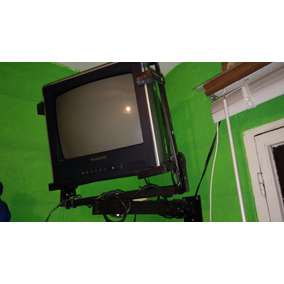 Televisor Panavox 14 Con Soperte Pared