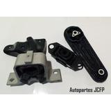 Base Soporte Motor Caja Renault Logan (kit Soportes)