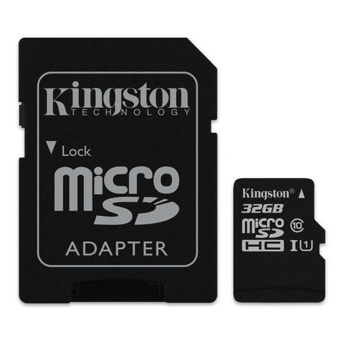 Cartão de memória Kingston SDC10G2 com adaptador SD 32GB