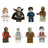 Bonecos Terror Monstros Drácula Múmia Zombie Lego Compatível