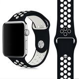 Pulso Manilla En Silicona Para Apple Watch 38 Y 42mm