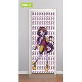 Adesivo Decorativo De Porta - Monster High