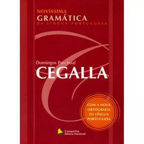 Cegalla Gramatica + Gabarito + Frete Grátis