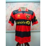 Camisa Futebol Sport Recife Pe Finta Jogo Antiga 1803 50fdb733a7f51