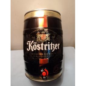 Lata Barril Barrilito De 5 Litros De Cerveza Köstriber Vacio