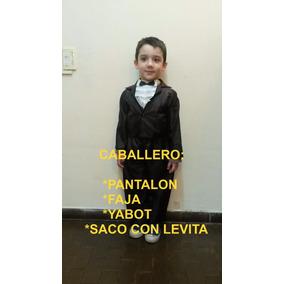 Disfraz Caballero Paisana Negrita Coya Gaucho Candombero