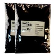 2 Recargas 50g Nano Hair - Alopecia, Calvicie Varios Colores