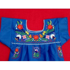Vestido Mexicano, Bordado A Mano, Resistente, Cómodo, 1 Años