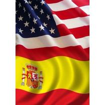 Curso De Inglês E Espanhol - 65 Dvds Frete Gratis