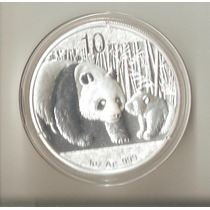 Moneda 1 Onza De Plata 0,999 China Año 2011